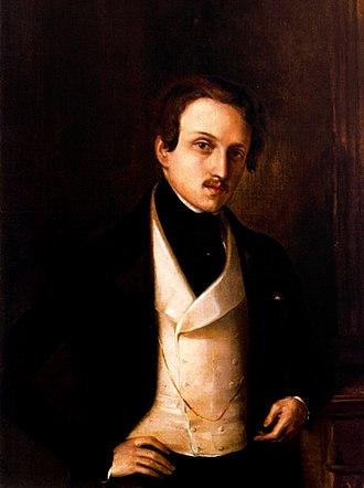 Federico de Madrazo - Federico de Madrazo, self-portrait.