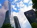Madrid - CTBA, Torre de Cristal, Torre PwC y Torre Caleido.jpg