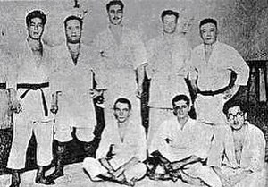 Mitsuyo Maeda - Maeda's first Brazilian students
