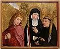 Maestro di liesborn, ss. giovanni evangelista, scolastica e benedetto, 1470-80 ca.jpg
