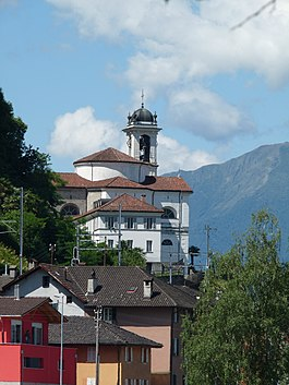 Magadino - Magadino village church