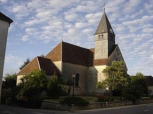 Magnant, Aube - Image: Magnant église