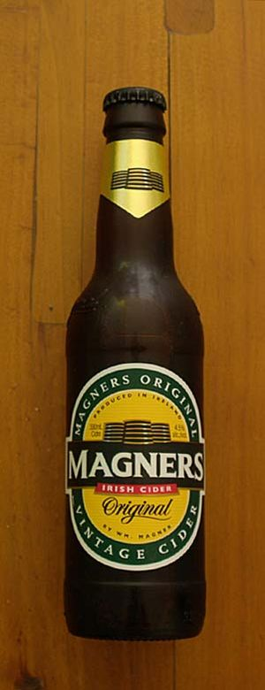 Magners - A 330ml bottle of Magners cider.