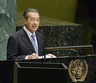 United Malays National Organisation - Mahathir Mohamad