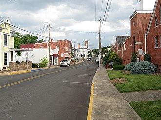 Dayton, Virginia - Main Street, Dayton