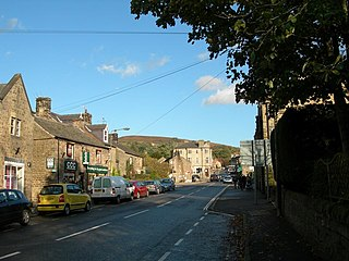 Hathersage village and civil parish in Derbyshire, England