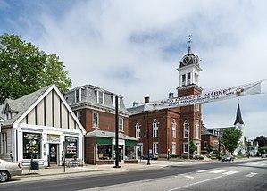 Saco, Maine - View of Main Street