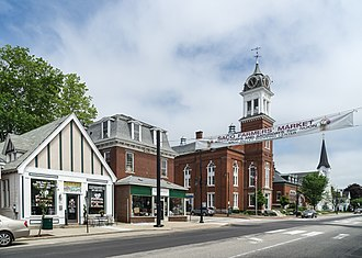 Saco, Maine - View of Main Street