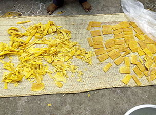 Making of Mamiditandra (mango sweet of Andhrapradesh) (7).jpg