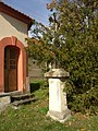 Makotrasy KL CZ wayside cross in front of chapel 141.jpg