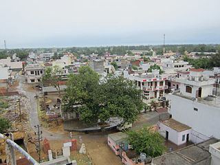 Mallian Kalan Village in Punjab, India