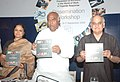 """Mallikarjun Kharge releasing a documentation of Good Practices, at the inauguration of the Workshop on """"Prevention of HIVAIDS in the world of Work – A Tripartite Response"""", in New Delhi on September 09, 2009.jpg"""