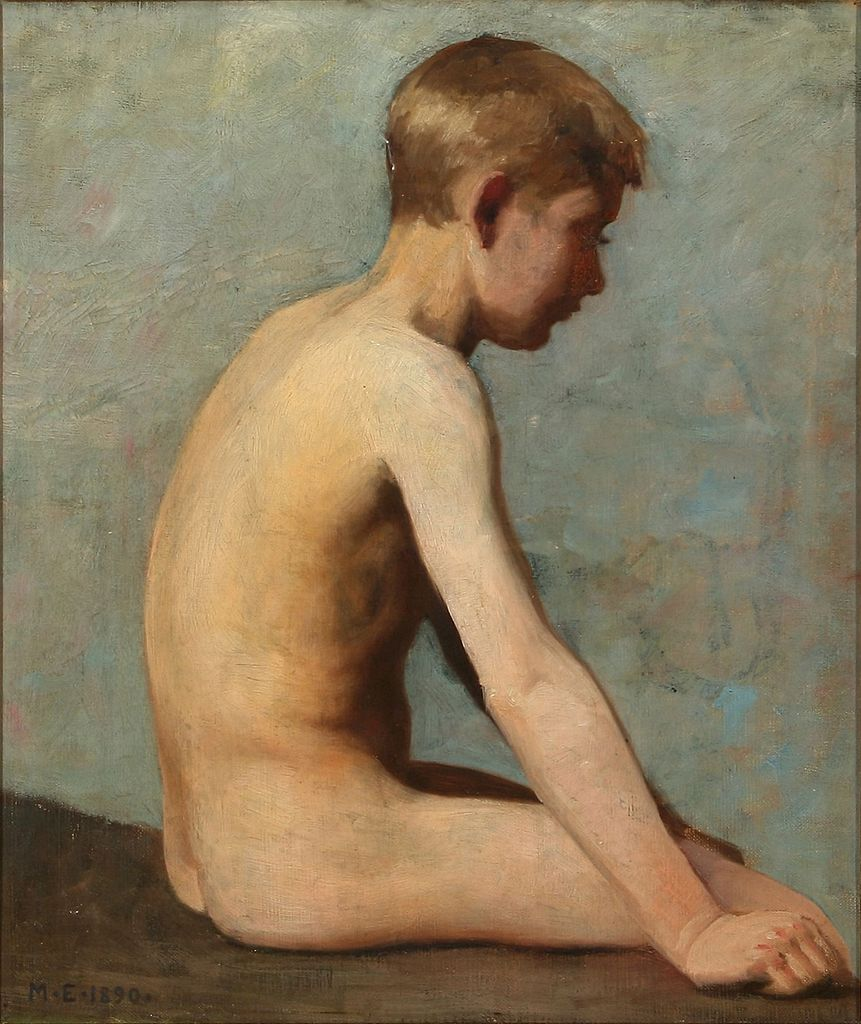 from Jeremiah study of nude boy