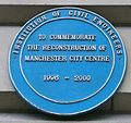 Manchester blue plaque 1996 IRA bombing.jpg