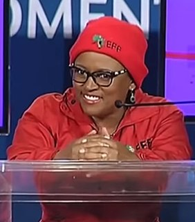 Mandisa Mashego South African politician