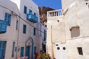 Nisyros - Street of Mandraki
