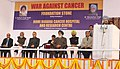 Manmohan Singh addressing at the foundation stone laying ceremony of the Homi Bhabha Cancer Hospital and Research Centre, at Mullanpur, Mohali, New Chandigarh, Punjab. The Governor of Punjab, Shri Shivraj Patil.jpg