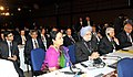 Manmohan Singh at the fourth Plenary Session of the UN Conference on Sustainable Development (Rio+20), at Rio de Janeiro, Brazil. The Minister of State (Independent Charge) for Environment and Forests.jpg