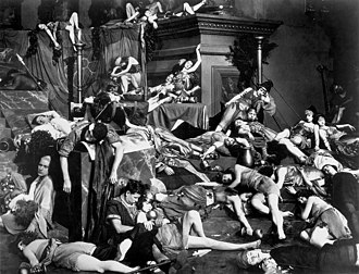 Manslaughter (1922 film) - The famous orgy scene from the film