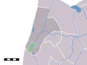 Burgervlotbrug - Image: Map NL Zijpe Burgervlotbrug