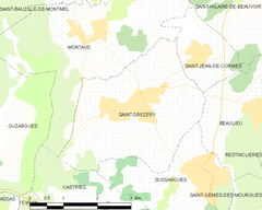 Map commune FR insee code 34249.png