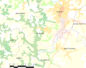 Map commune FR insee code 56246.png