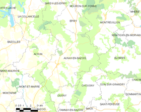 Map commune FR insee code 58017.png