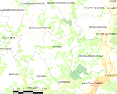 Map commune FR insee code 64012.png