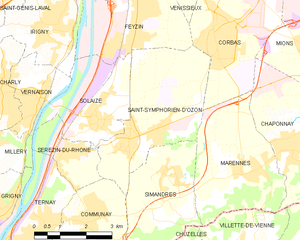 Map commune FR insee code 69291.png