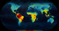 Map latitudinal gradient of biodiversity mannion 2014.png