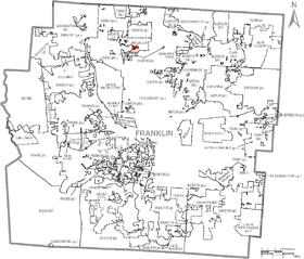 Map of Franklin County Ohio With Riverlea Labeled.png