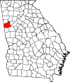 Map of Georgia highlighting Carroll County.svg