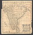 Map of India A map engraved for the 'Annual Register', London, 1763.jpg