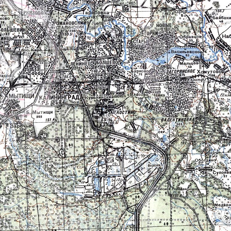 Map of Kaliningrad Moscow Region1941.jpg