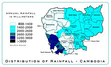 Sihanoukville city wikipedia map of rainfall regimes in cambodia source danida malvernweather Choice Image