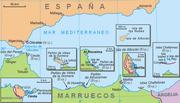 Posesiones españolas en el norte de África.
