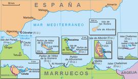 Frontera Entre España Y Marruecos Wikipedia La Enciclopedia Libre
