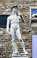 Marble replica of Michelangelo's David in Florence.jpg