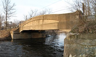National Register of Historic Places listings in Calhoun County, Michigan - Image: Marengo bridge