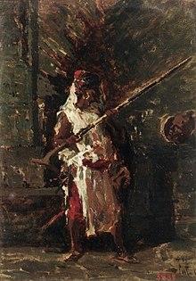 Askari, Mariano Fortuny, 1860