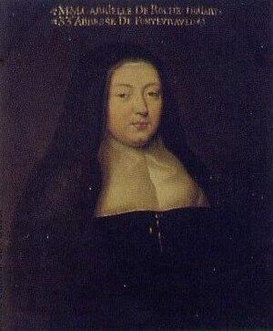 Fontevraud Abbey - Abbess Gabrielle de Rochechouart (1645-1704)