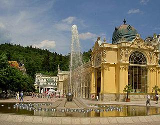 Mariánské Lázně Town in Czech Republic