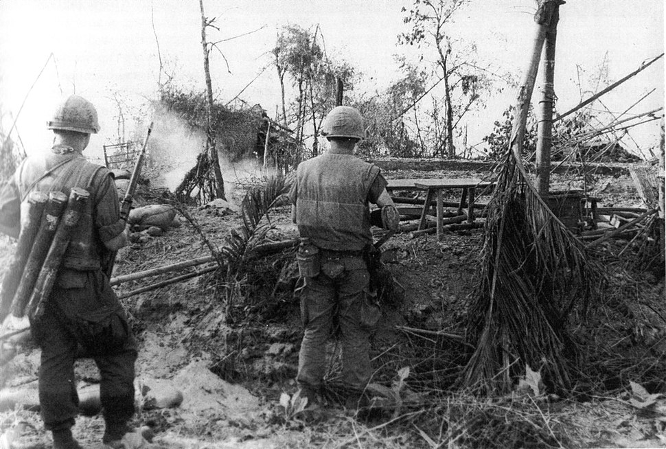 Marines in DaiDo Vietnam during Tet Offensive 1968