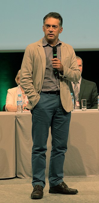 President of the Universal Esperanto Association - Mark Fettes is the current President of the World Esperanto Association. Lille, France, August 2015.