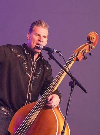 Mark Kermode - Kermode performing with The Dodge Brothers in 2010