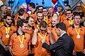 Mark Rutte presents medals to 2017 Invictus Team (1).jpg