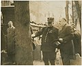 Marshal Joffre and Mayor at Franklin's Grave, Phila Pa.jpg