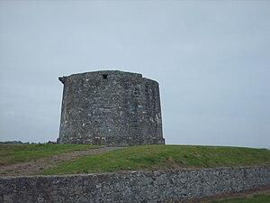 Balbriggan - Martello tower at Balbriggan