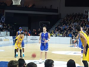 BC Neptūnas - Future team's captain Martynas Mažeika debuted with a Neptūnas jersey in 2000.