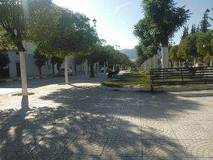 Batna, Algeria - Martyrs' Square of Batna
